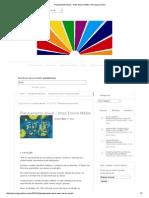 Planejamento Anual – Artes Ensino Médio _ Psicologa Online