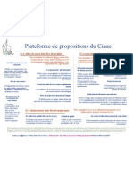 Plateforme propositions NB