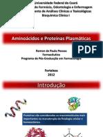 Proteínas Plasmáticas e Disfunção Do Metabolismo Protéico