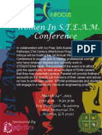 women in steam conference