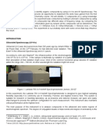 Full Report Uv-Vis and Ftir