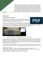 Full Report Uv-Vis and Ftir