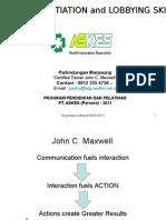 Negotiaon Skill ASKES 2011