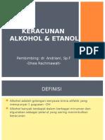 Keracunan Alkohol & Metanol