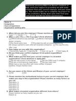 Branding-CurrentEmployees - Questionnaire FINAL