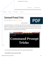 Command Prompt Tricks - Techews