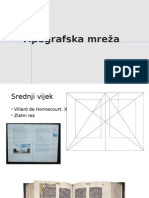Tipografska mreža - prezentacija
