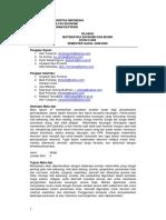 Matematika Ekonomi dan Bisnis (ECON31002)