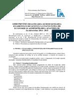 Ghid Examen Licenta 2015