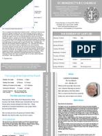 St Benedict's Newsletter 84