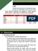 1.1. Exercícios - Terminologia de Custos