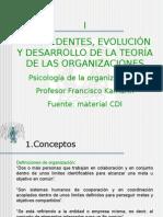 Organización PPT