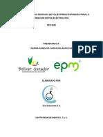 Reutilización de Los Residuos de Poliestireno Expandido Para La Creación de Polielectrolitos