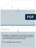 Chapter 9 - Budgeting1