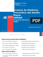 EMPAM - Dra  Jenny Velasco