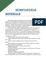 Apa Si Substantele Minerale
