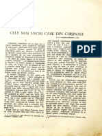 Cele Mai Vechi Case Din Chisinau - 1931