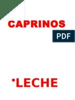 CAPRINOS - REPASO