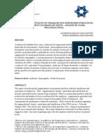 SATISFAÇÃO E MOTIVAÇÃO NO TRABALHO DOS SERVIDORES PÚBLICOS DO IFRO – CAMPUS COLORADO DO OESTE – ANÁLISE DE CLIMA ORGANIZACIONAL
