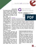 Gluten Detection Method on Surfaces Alimentaria