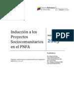 Guia--Induccion a Los Proyectos Sociocomunitarios Del Pnfa
