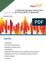 Cisco Live - Service Instance