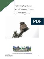 Latvia Birding Trip Report