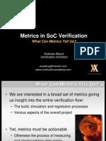 Module Metrics Soc Verification Session3 What Can Metrics Tell Us Ameyer