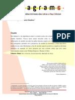 Afrânio Coutinho e o New Criticism