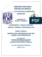 Anemia Posthemorragica