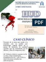 Seminario Hemorragia Uterina Disfuncional