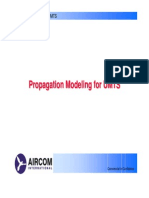 Propagation Modeling for Umts