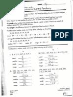 key hwk central tendency - box plots