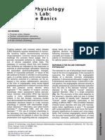 Fisiologia Coronaria Hemodinamica CC 2011