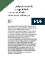 INDUSTRIA DEL VIDRIO EN ESPAÑA