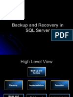 SQL Backup and Recovery
