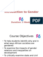 Ugrc 220 Introduction to Gender