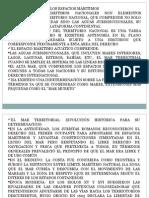Espacios Maritimos 2015