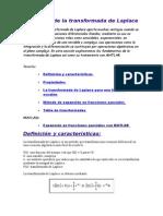 Aplicación de la transformada de Laplace.doc