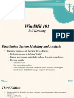 WindMil 101 - Engineering Analysis Software - Bill Kersting