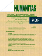 REVISTA HUMANITAS 5 - Clima Organizacional