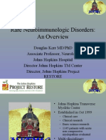 Rare Neuroimmunologic Disorders-Overview