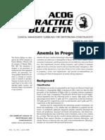 Art_Anemia in Pregnancy