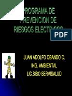 Capacitacion - Programa Riesgo Electrico Ok Juan Obando
