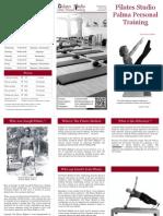 De Pilates Studio - Palma Personal Training Folder