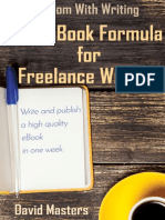 The eBook Formula for Freelance Writers
