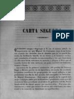 Cuadro Historico de La Revolucion Mexicana Tomo-I Carta 02