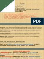 Catedra de Proceso Manufactura