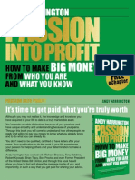 Passion Into Profit Sample Chapter