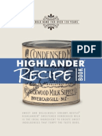 Highlander Recipe Book